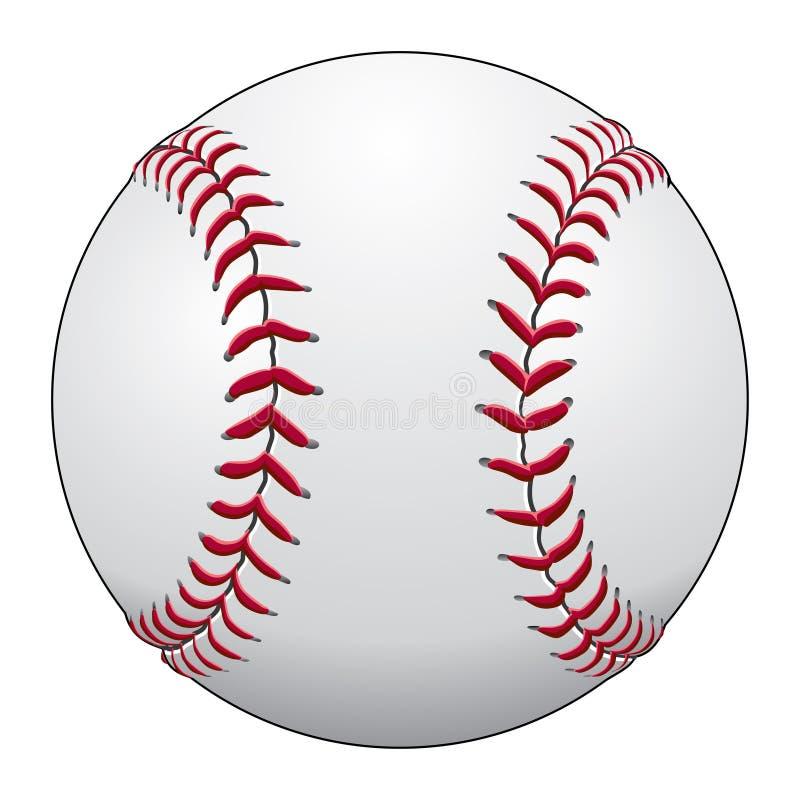 棒球 库存例证