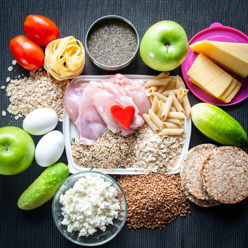 棒谷物节食健身 营养体育题材  库存照片