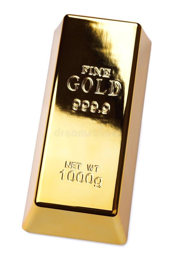 棒金块金子 库存照片