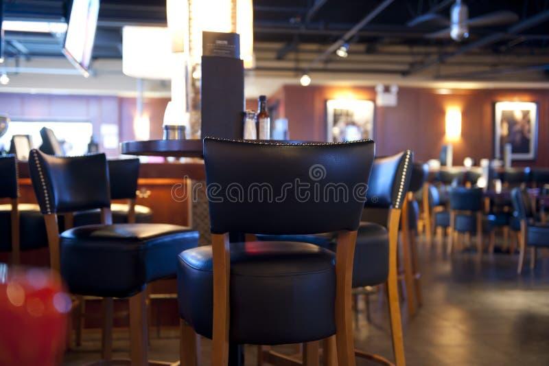 棒餐馆 免版税库存图片
