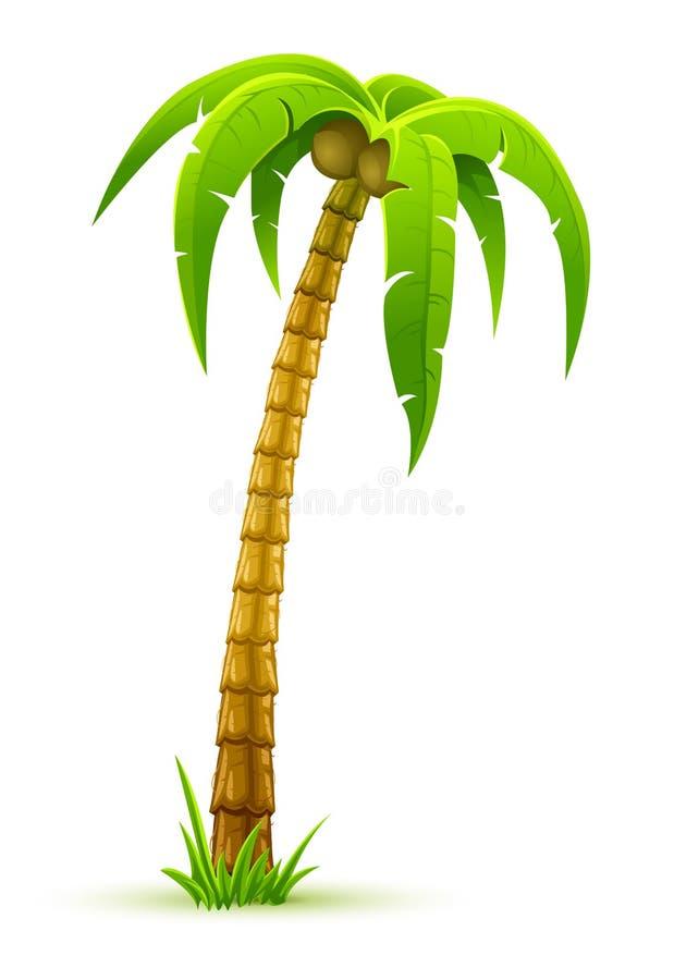 棕榈树 向量例证