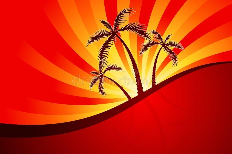 棕榈树 库存例证