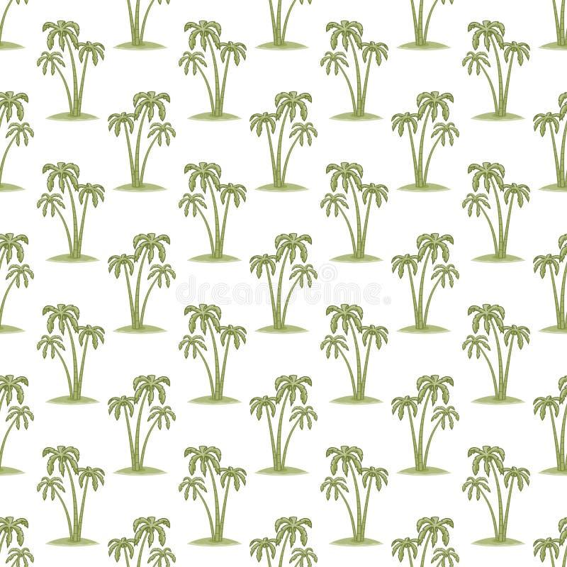 棕榈样式 向量例证