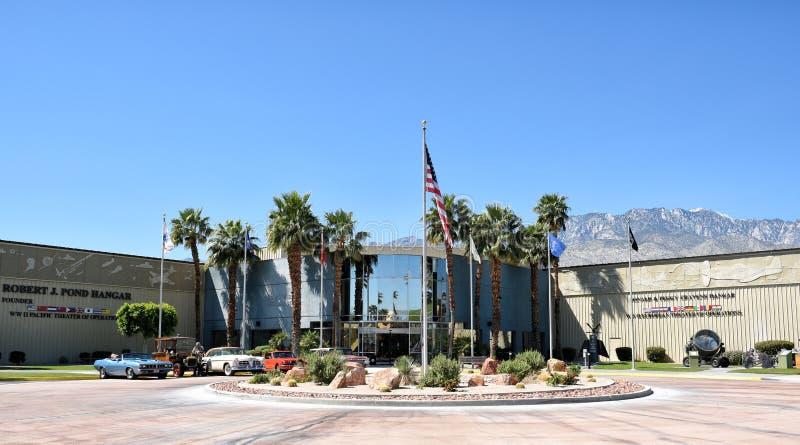 棕榈泉空气博物馆 库存图片