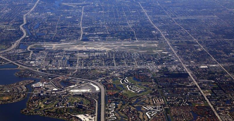 棕榈滩国际机场 库存照片