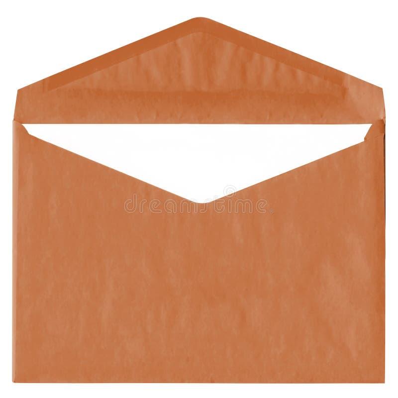 棕色信包查出葡萄酒白色 免版税图库摄影