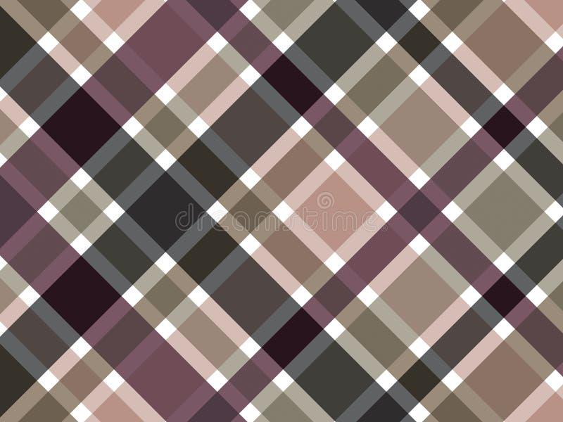 Download 棕色咖啡模式格子花呢披肩 向量例证. 图片 包括有 咖啡, 黑暗, 对角, 乐趣, 抽象, 布料, 装饰, 五颜六色 - 3023033