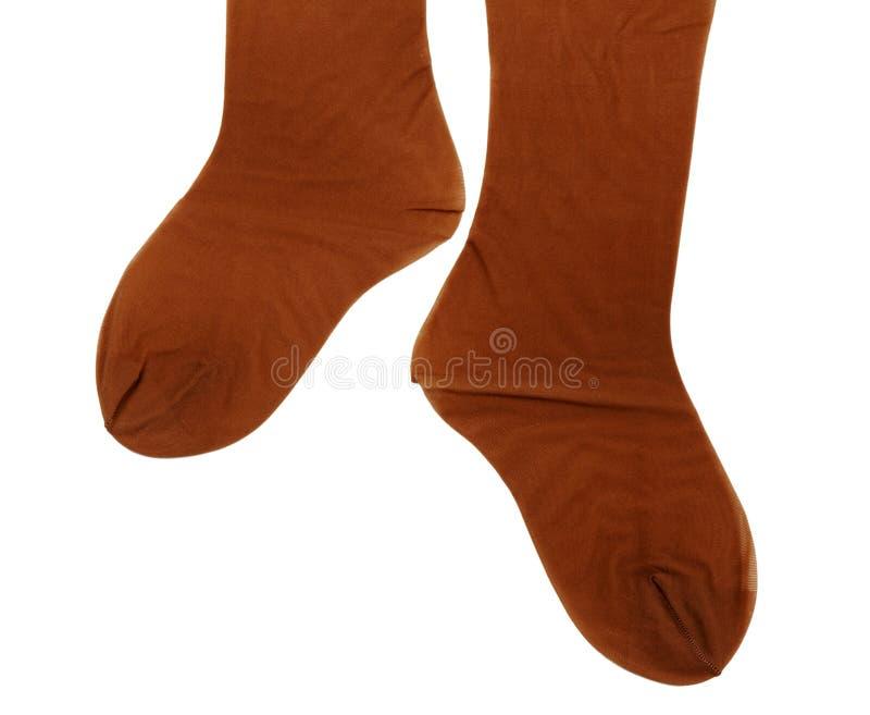 棕色女性贴身衬衣 免版税库存图片