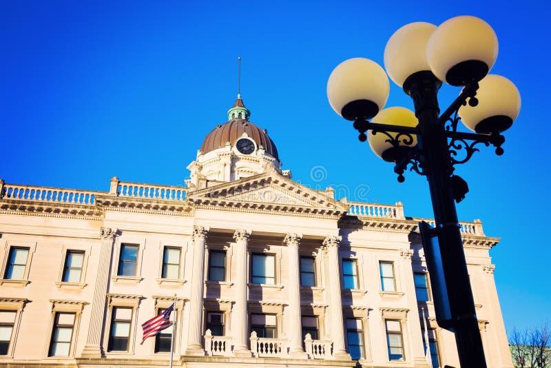 棕色市政厅 库存图片