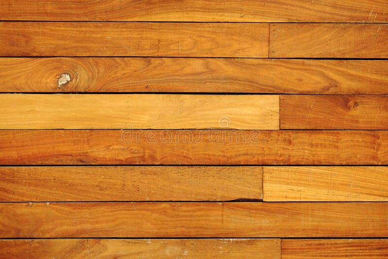 棕色木纹理 库存图片