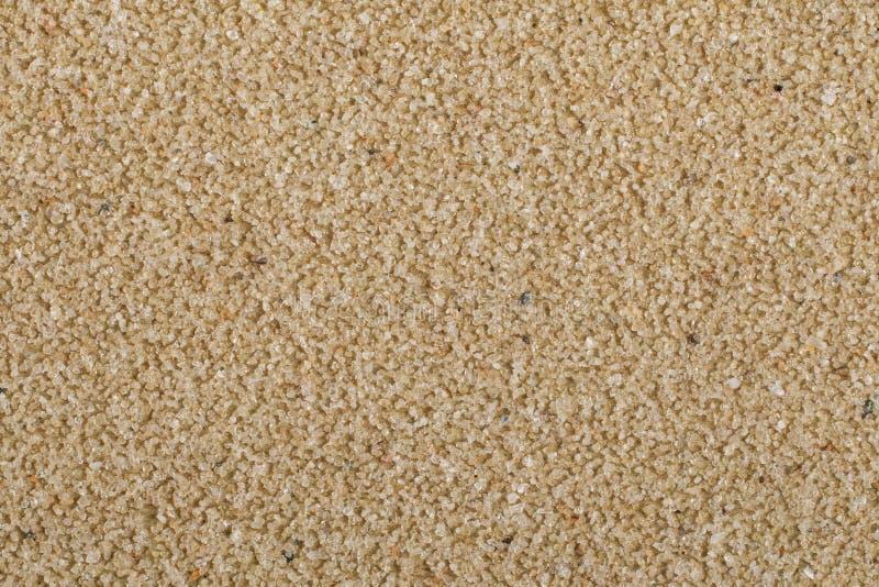 棕色沙纸宏指令  免版税库存图片