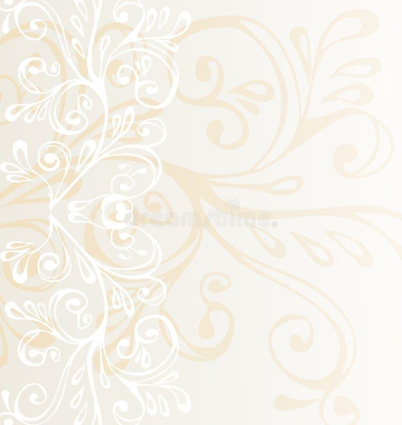 棕色灰色装饰品白色 免版税库存照片