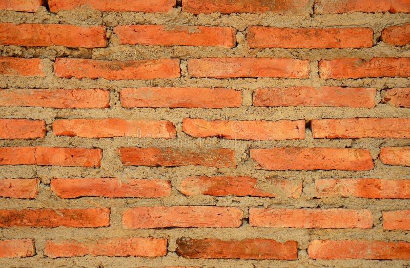棕色石头-铺片段的石砖地无缝的纹理-老岩石纹理  免版税图库摄影