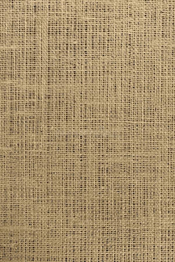 棕色粗麻布 库存图片