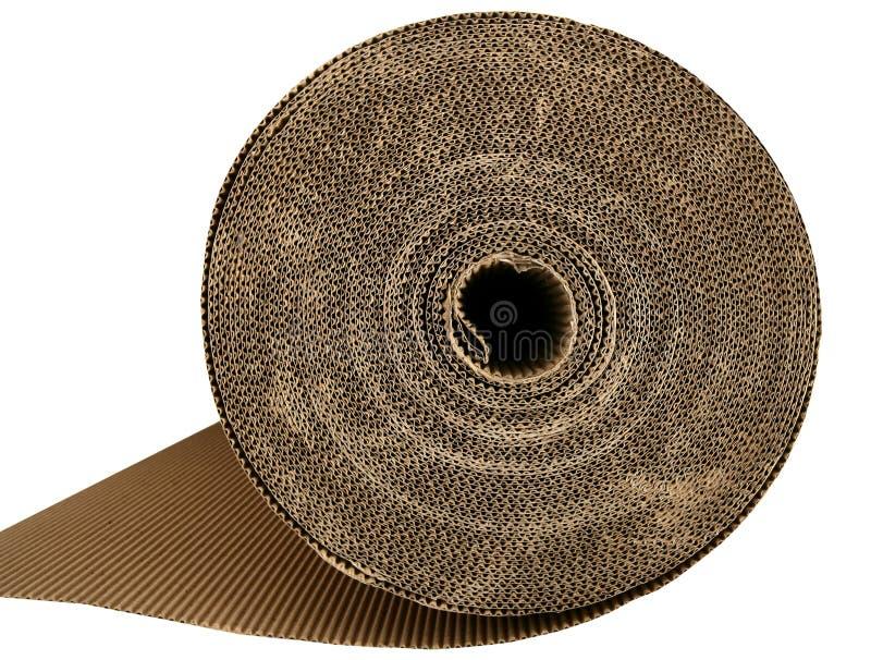 棕色纸板纸盒装箱纹理 库存照片