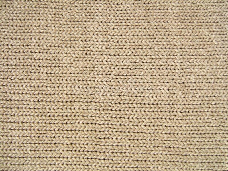 棕色纹理羊毛 库存图片