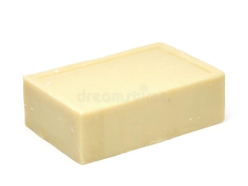 棕色肥皂 免版税库存照片