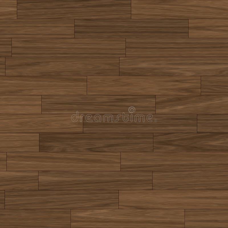 棕色黑暗的地板木条地板 免版税图库摄影