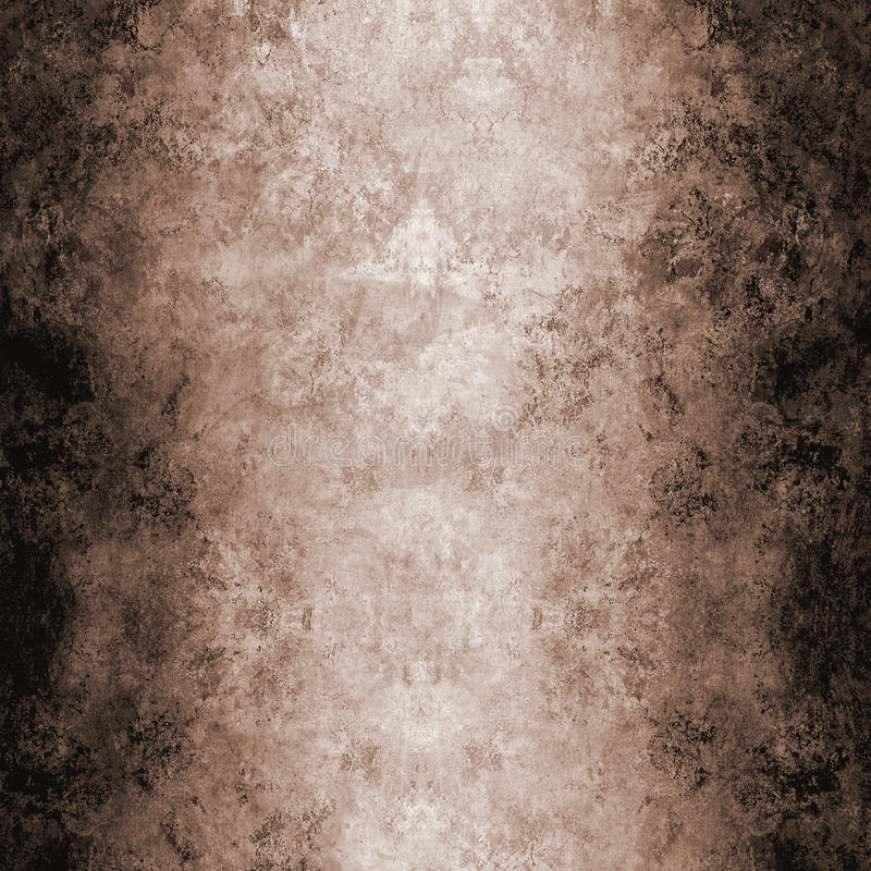 棕色grungey墙纸 皇族释放例证