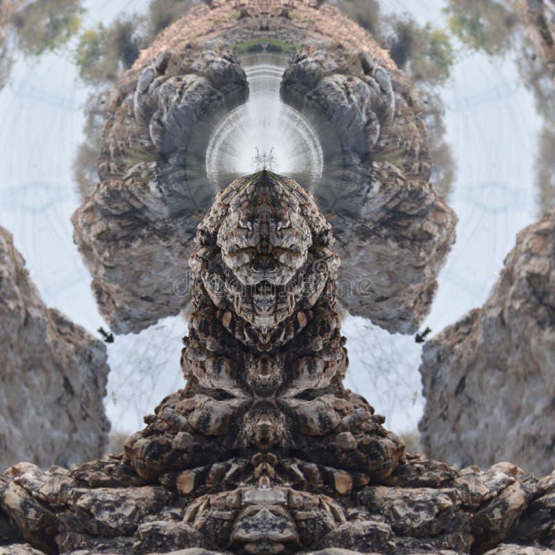 森林之王,狮子 免版税库存图片