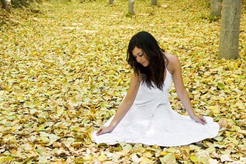 森林妇女 图库摄影