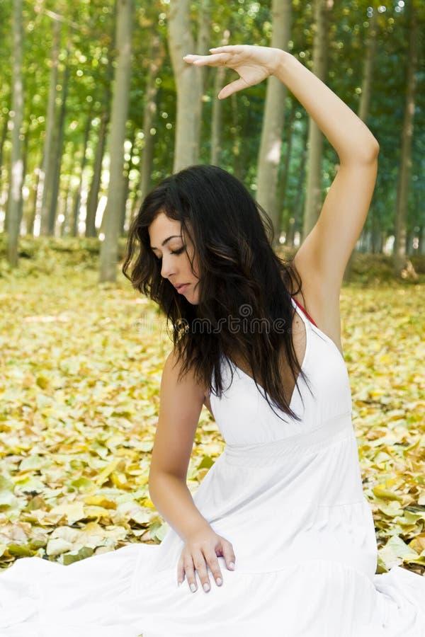 森林妇女 库存图片