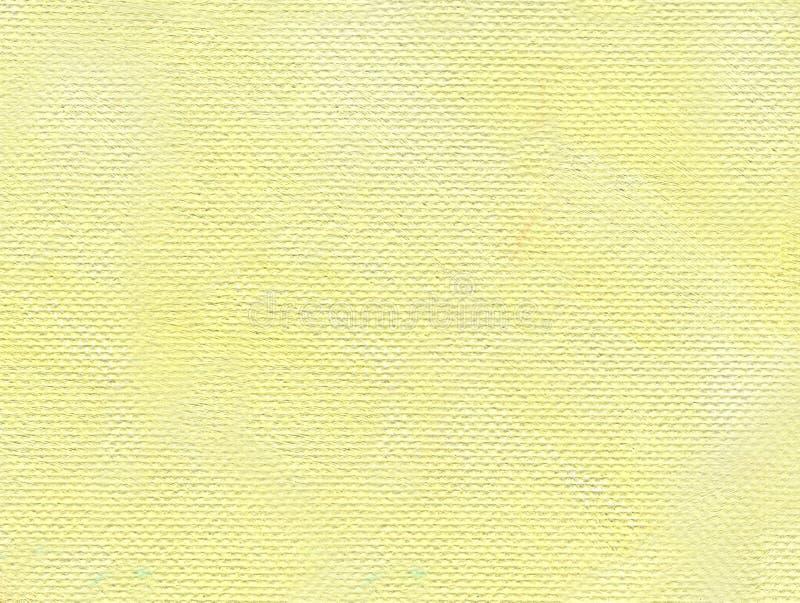 森林横向油画河 坚实和一致的淡黄的背景 免版税库存照片