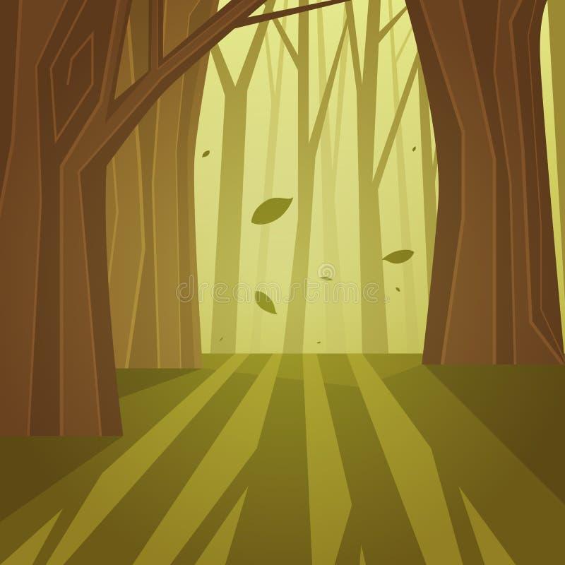森林 库存例证