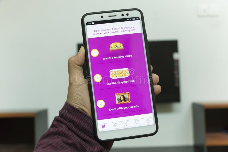 森美兰,马来西亚- 2018年8月30日:KnowYourLemons appli 库存照片