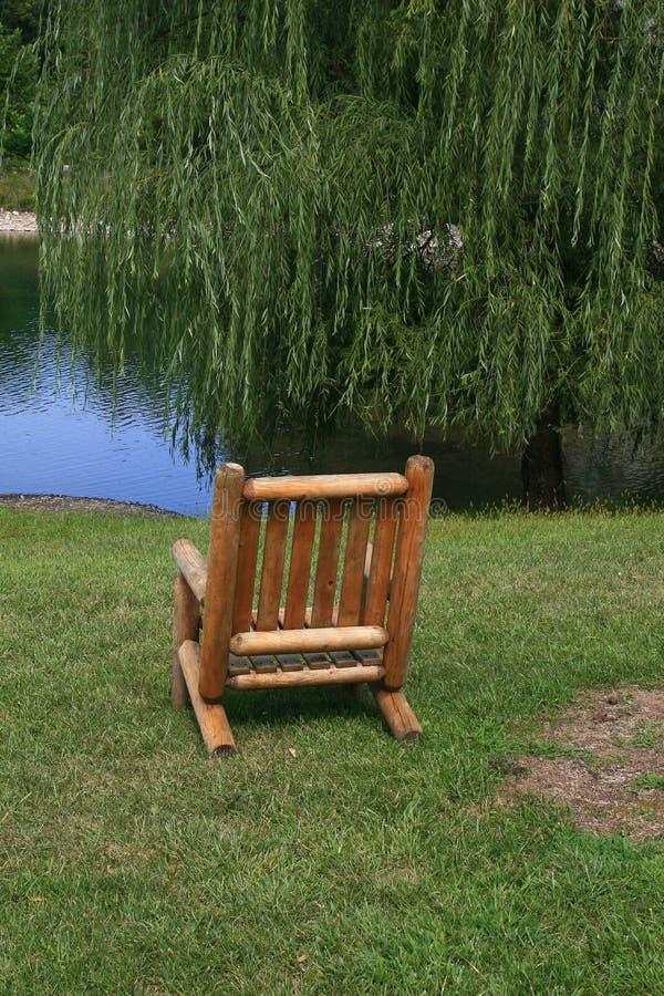 椅子一 免版税库存照片