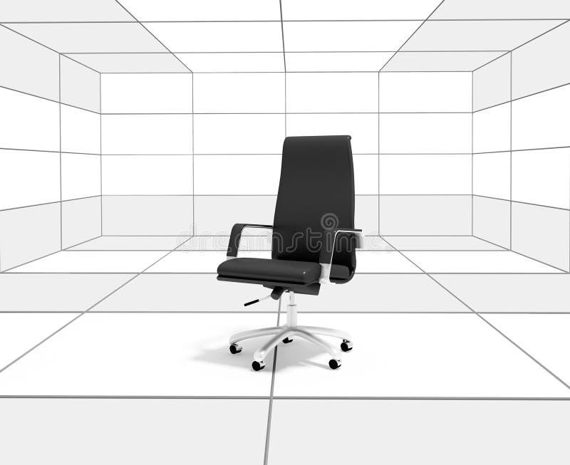 椅子办公室 向量例证
