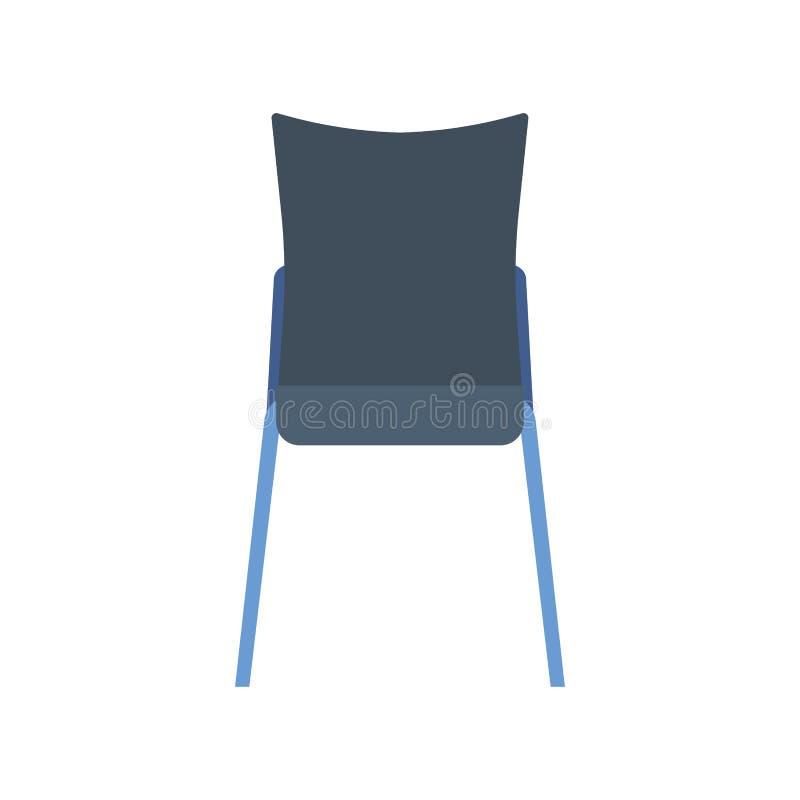 椅子咖啡馆传染媒介象家具设计内部 人平的坐的正面图小餐馆 动画片自助食堂元素室 皇族释放例证