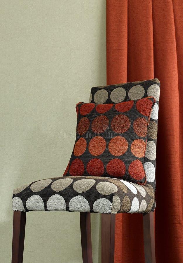 椅子坐垫织品 免版税库存图片