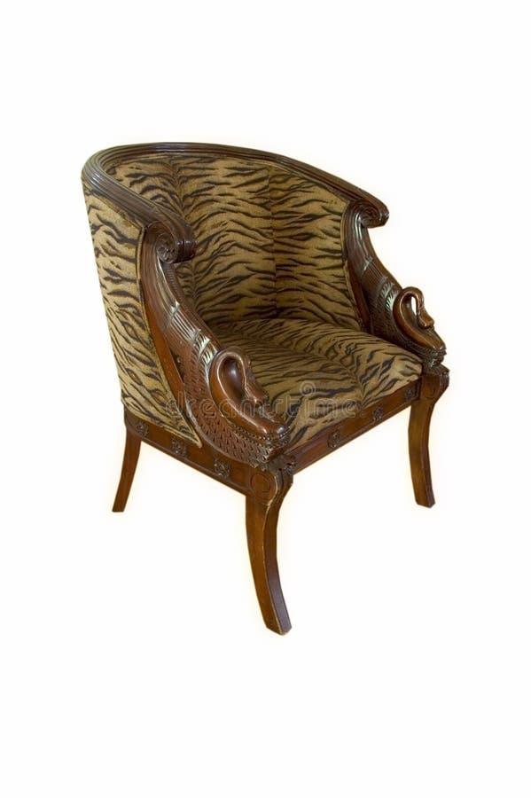 椅子天鹅 免版税库存图片