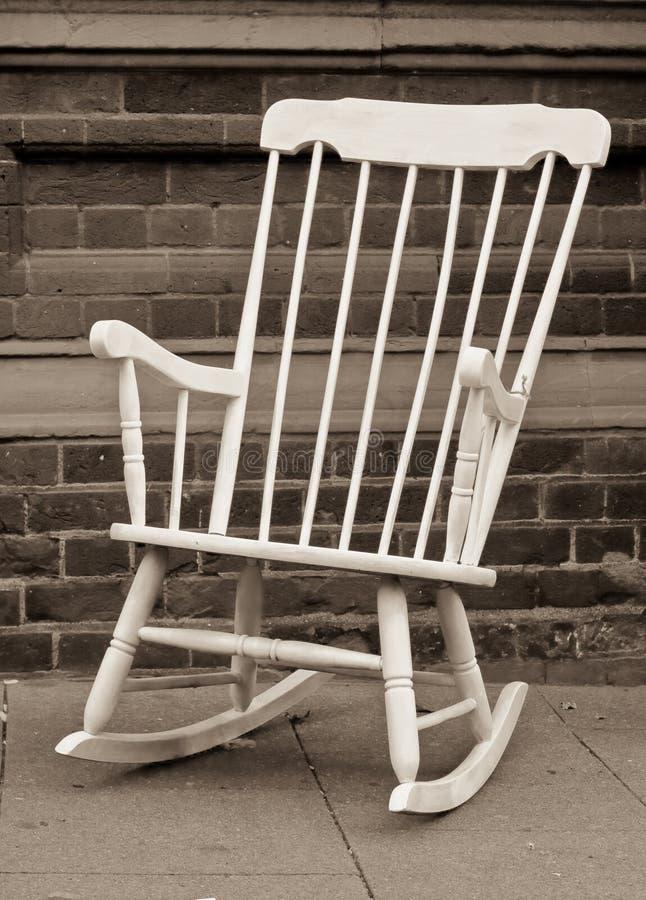 椅子晃动 免版税库存图片