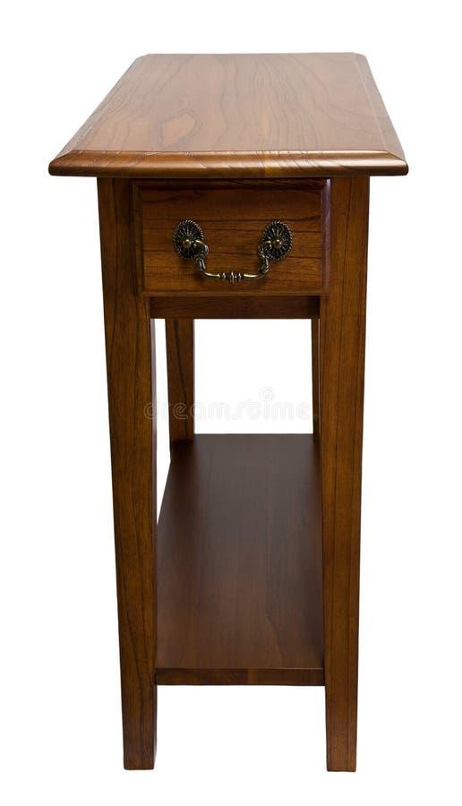 椅子橡木端表 免版税库存图片