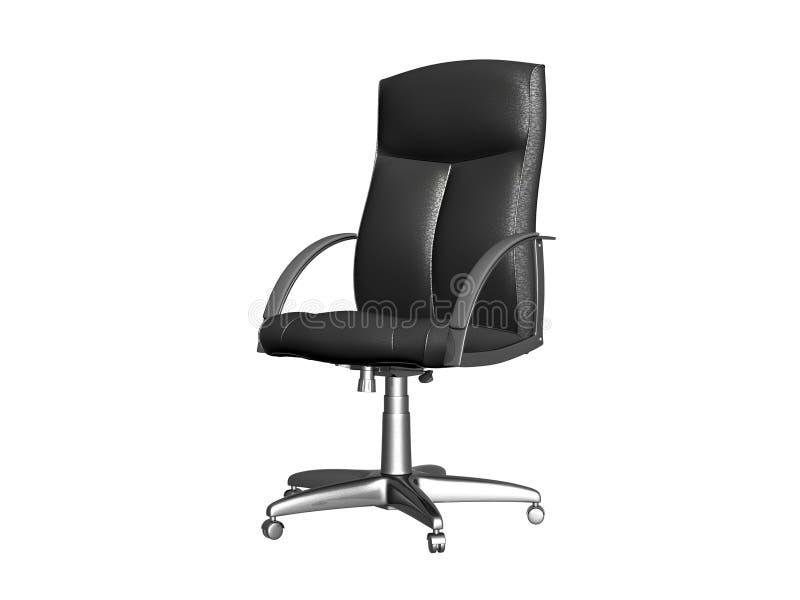 椅子灰色办公室 库存例证