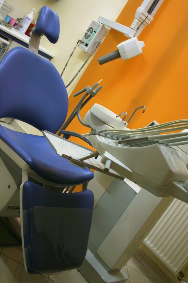 椅子牙科医生 图库摄影