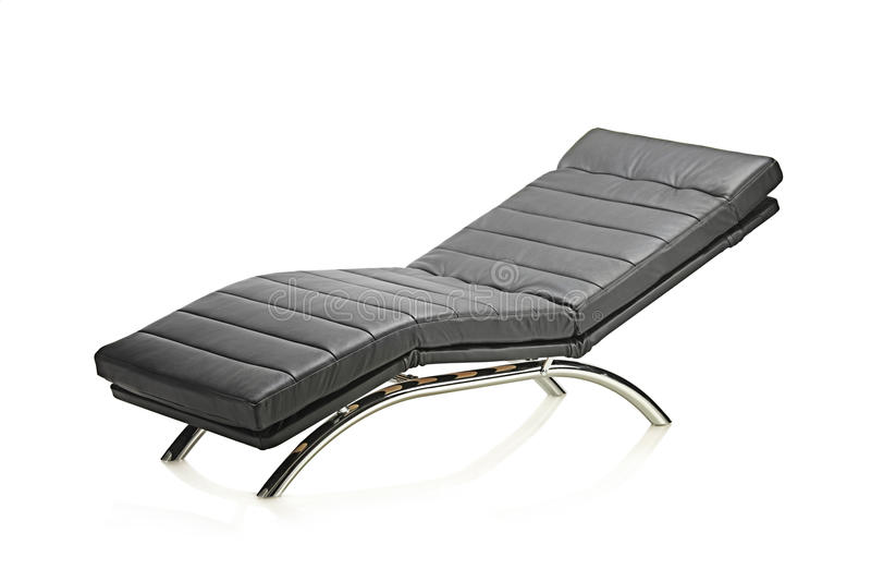 椅子皮革现代 图库摄影