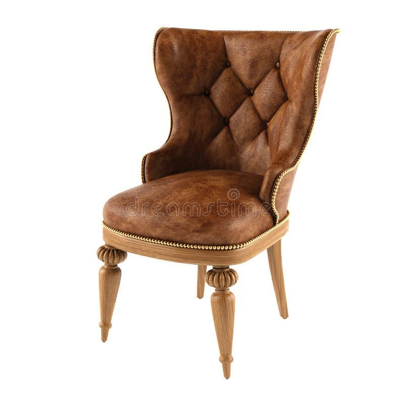 椅子皮革现代 免版税图库摄影