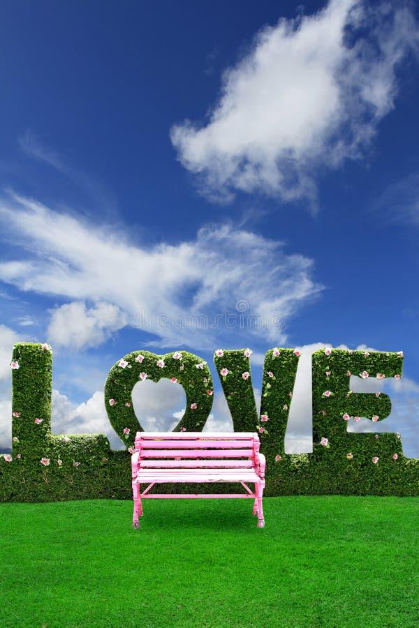 椅子粉红色 免版税库存照片