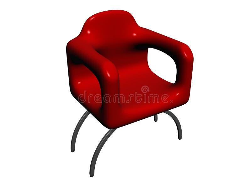 椅子红色 库存照片