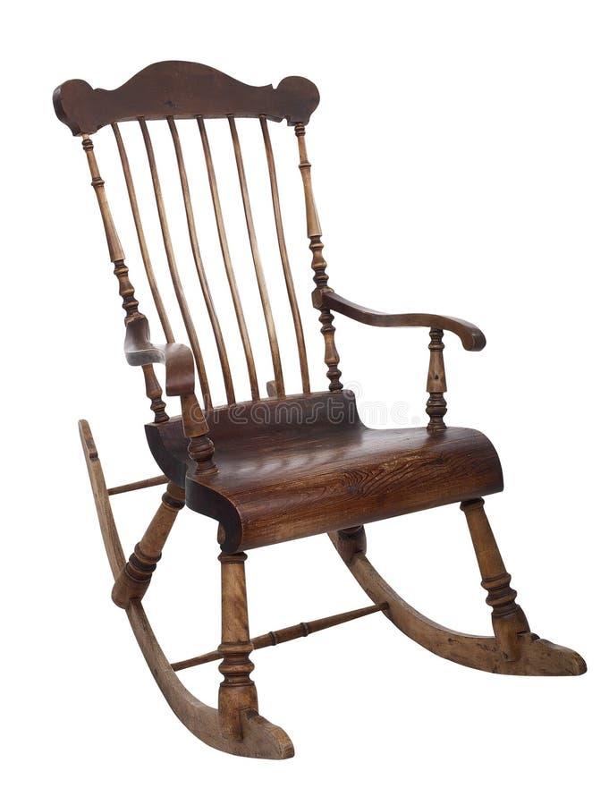 椅子老晃动 图库摄影