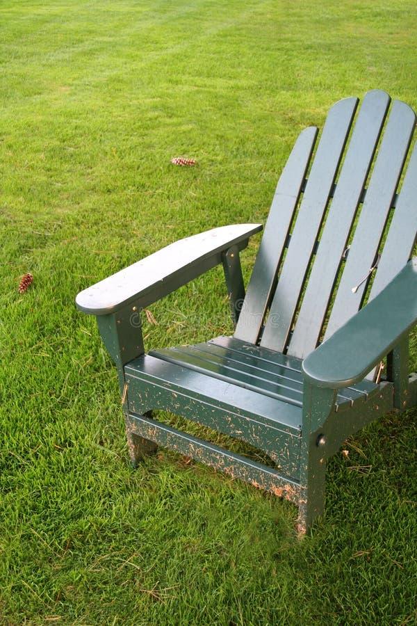 椅子草草坪 免版税库存图片