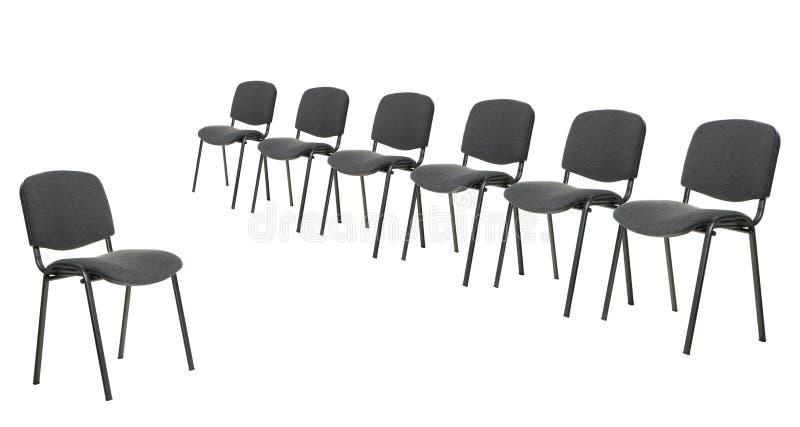 椅子论述集 库存照片