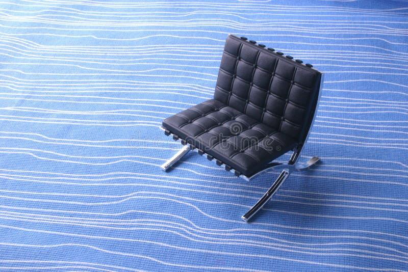 椅子设计员皮革 库存图片
