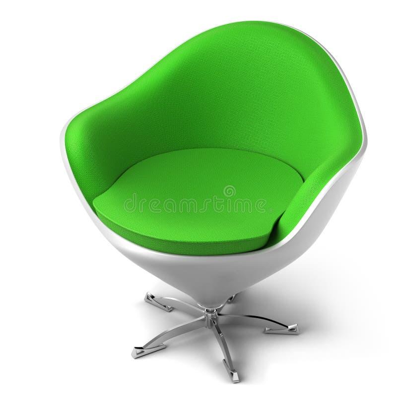 椅子设计员 向量例证