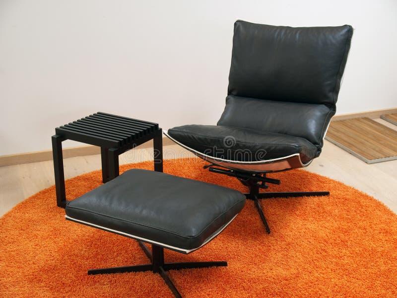 椅子设计现代可躺式椅 免版税库存图片