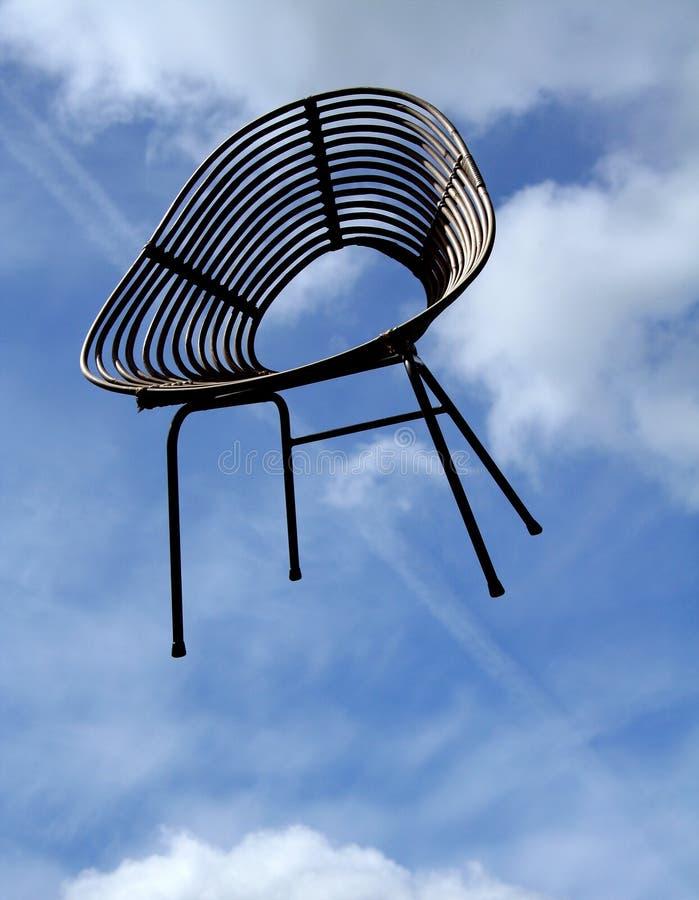 椅子飞行 免版税图库摄影