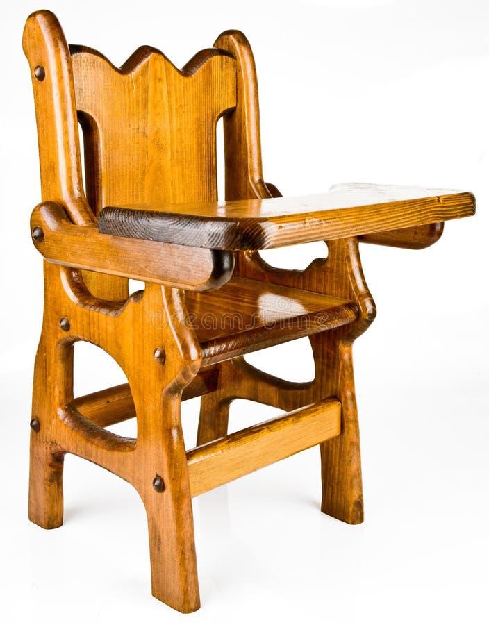 椅子高木头 库存照片